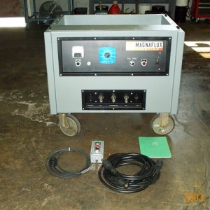 WEEKLY RENTAL P-500 4000 amp ac/hwdc machine with demag, cables, prods, control station & certification 220/440v
