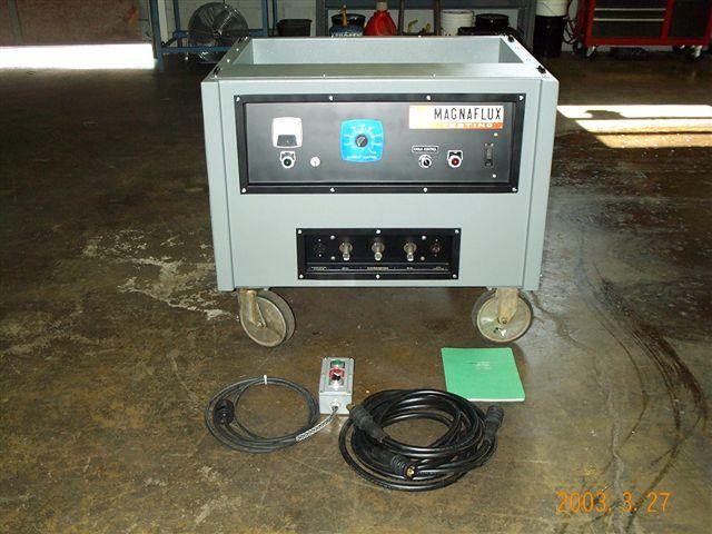 Weekly Rental P 500 4000 Amp Ac Hwdc Machine With Demag