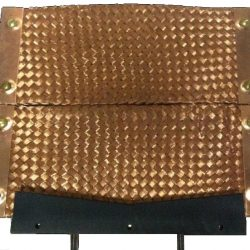 "Large Copper Pad Assembly 12"" x 12"" (2 Copper Pads & V-Block)"