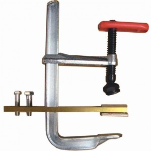 """NEW Magnaflux Heavy-Duty """"C"""" Contact Clamp (used for parts up to 7"""" diameter)"""