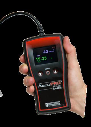 Spectroline® AccuPro™ Series Digital Radiometer/Photometers