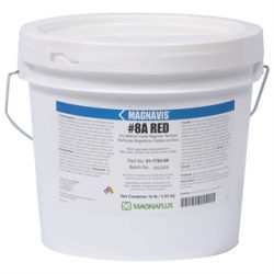 Magnaflux Magnavis® Dry Method Non-Fluorescent Magnetic Dry Powder #8A RED