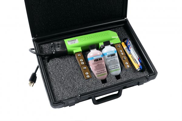 Magnaflux Magnvis® Y-7 AC/DC Magnetic Particle Inspection Yoke Kit-230V